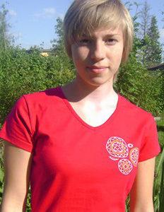 Nurri Punane T-särk – Naiste