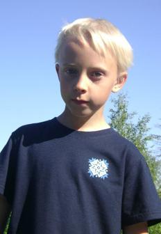 Poiste Must T-särk