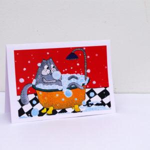 Postkaart – Kass Vannis
