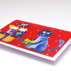 Postkaart – Kingitustega Kass