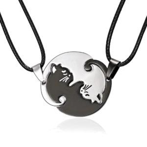 Yin Yang Kassidega Kaelakee