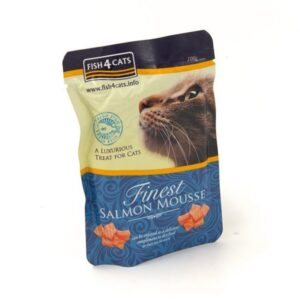 Fish4Cats KASSI PASTEET FINEST MOUSSE LÕHE 100G